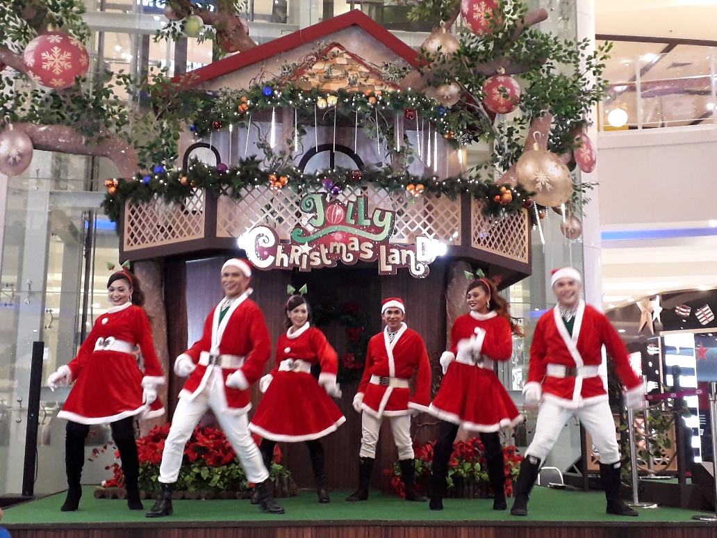 Christmas Dance Performance Cheras Leisuremall